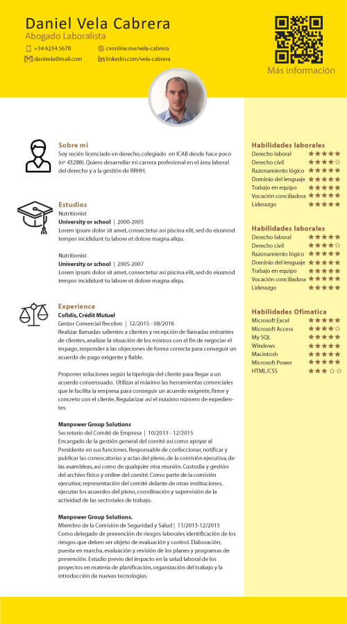 cv online create yours completely free and share it with