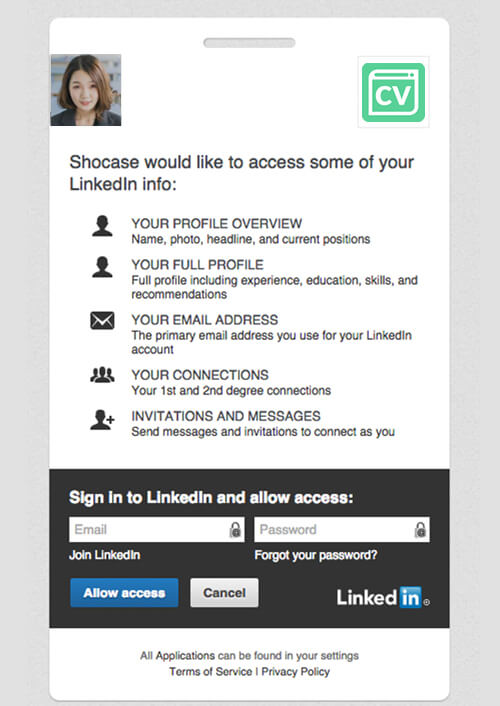 create cv from linkedin build a much more engaging and eye catching