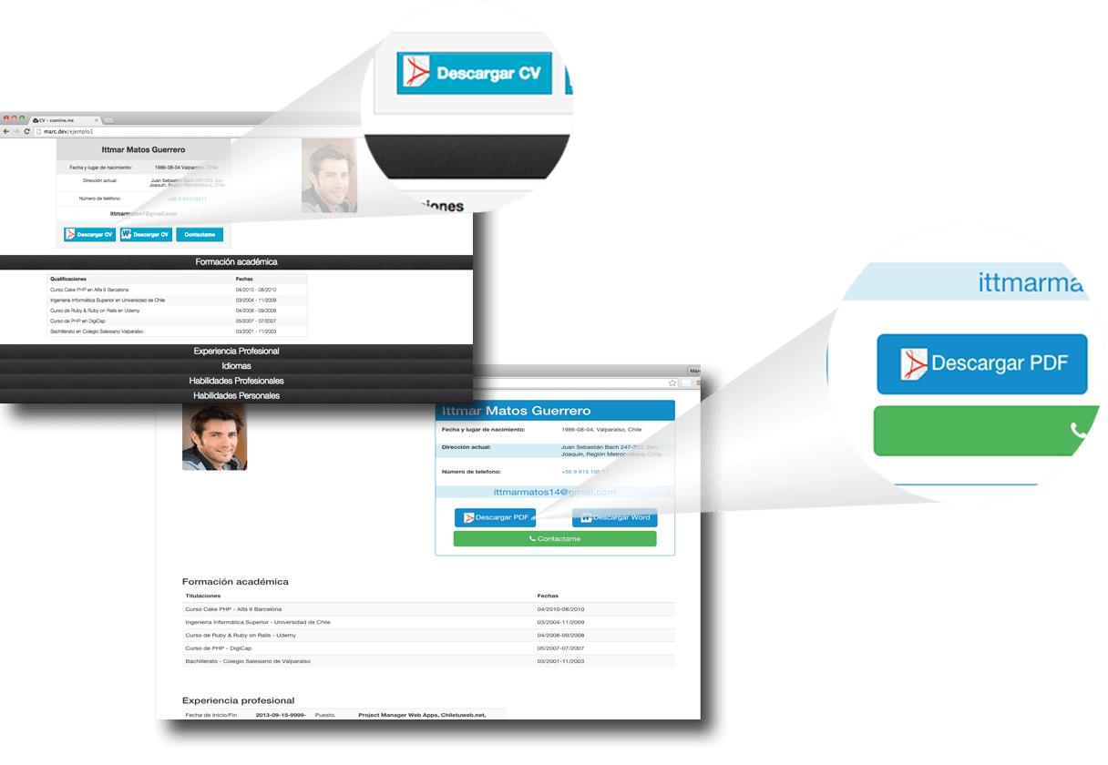 Como hacer un Currículum Online - Rápido, fácil e útil - cv online