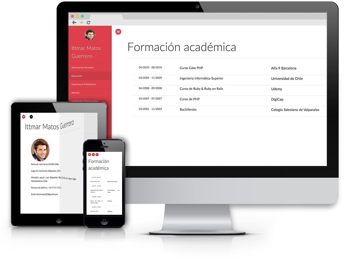 Modelos CV Online - Modelos efectivos y Profesionales - cv online